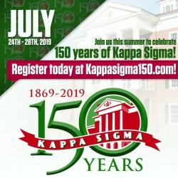 Kappa Sigma Turns 150