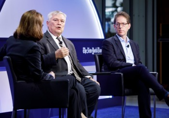 Barron discusses Greek life reform as part of New York Times forum