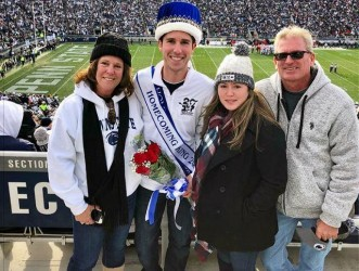 Alpha Delta Brother Crowned 2017 Homecoming King